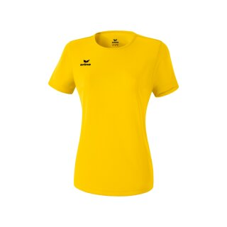 Erima Funktions Teamsport T-Shirt Damen gelb
