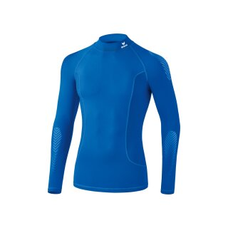 Erima Elemental Longsleeve mit Stehkragen new royal
