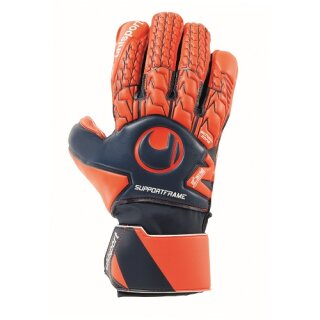 Uhlsport Torwarthandschuh NEXT LEVEL Soft SF marine/fluo rot