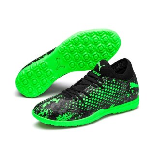 Puma Future 19.4 TT puma black-charcoal gray-green gecko