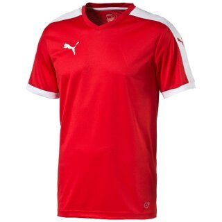 Puma Trikot Pitch Shortsleeved Shirt rot-weiß