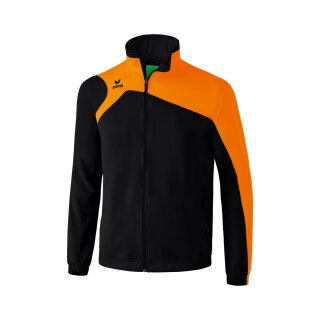 Erima Club 1900 2.0 Präsentationsjacke schwarz/orange