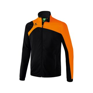 Erima Club 1900 2.0 Polyesterjacke schwarz/orange